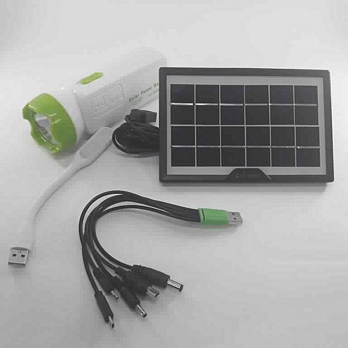 eclairage led solaire Lampe LED u0026 chargeur Power Bank avec panneau solaire